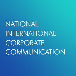 National and international corporate communication